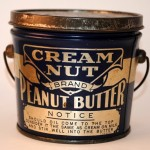 A one pound Cream Nut metal can from the period 1915 to 1925